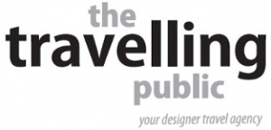 Logo of The Travelling Public - your designer travel agency